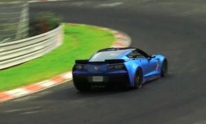 C7 Corvette Z06 at Nurburgring