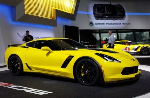 C7 Z06 Corvette at Geneva