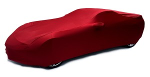 C7 Crystal Red Car Cover