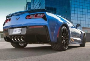 C7 Corvette quarter panel wide body