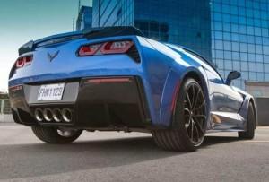 C7 Corvette quarter panel wide body